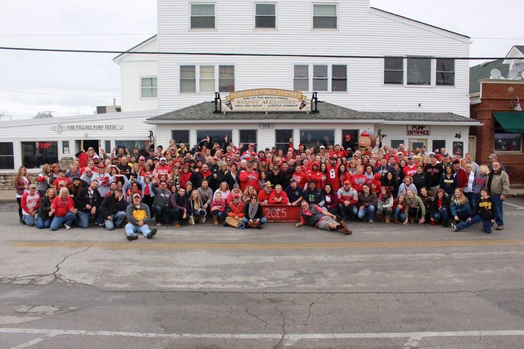 Ohio State vs Michigan tailgate party