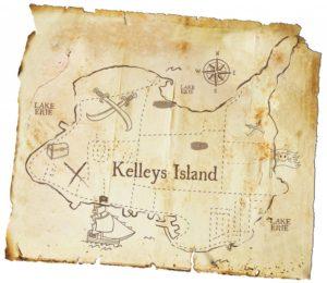 Kelleys Island Map