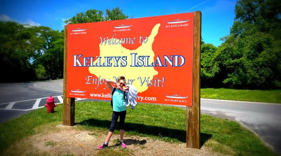 Mom on the go in Holy Toledo – Kelleys Island