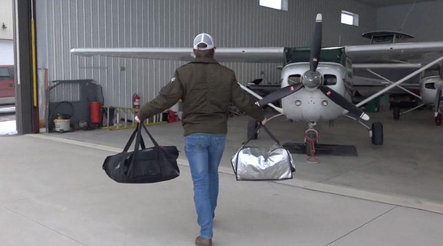 Kelleys Island native pilots weekly food delivery to neighbors